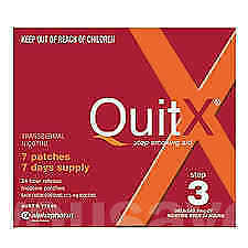 QuitX Step 3 Patch 7mg over 24 hours 7 pack