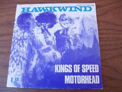 Hawkwind ‎– Kings Of Speed 45t sp United Artists Records UP 35.808 France 1975