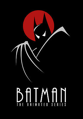 "BATMAN THE ANIMATED SERIES 11""x17"" POSTER PRINT #5"