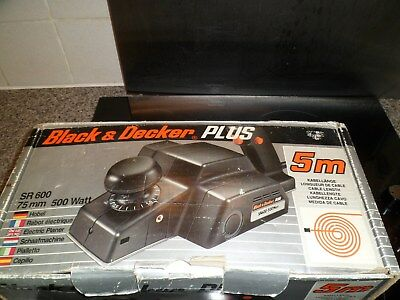 Black and Decker Plus electric planer - boxed