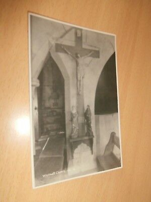 POSTCARD: Interior of Church of St Mary and St Radegund, Whitwell, Isle of Wight