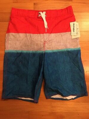 NWT Old Navy Boys Swimsuit Bathing Suit Board Shorts Size XL 14-16