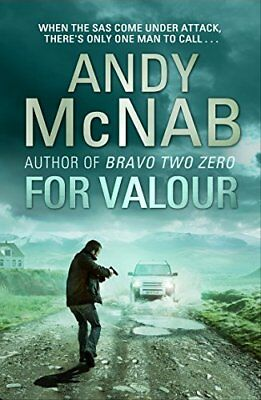 For Valour: (Nick Stone Thriller 16) by Andy McNab New Paperback Book