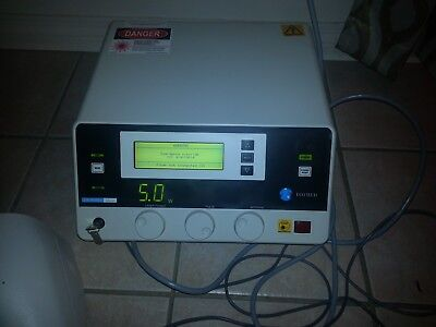 DIOMED 15 Plus EVLT laser with foot pedal and manual