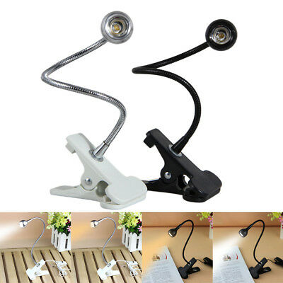 USB Rechargable Flexible Eye-care Adjustable Reading LED Light Clip-on Clamp Bes