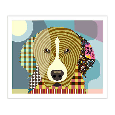 Art Great Pyrenees Dog Print Gift Print Puppy Canine Portrait Doggy Painting