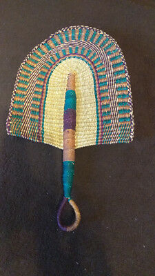 CLEARANCE ~ Beautiful African Market Baskets Hand-Woven Bolga FAN
