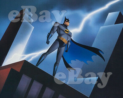 Rare BATMAN THE ANIMATED SERIES Cartoon Photo #1 WARNER BROS ANIMATION DC Comics
