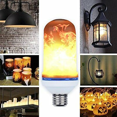 Flame Bulb, LED Effect Light Bulb,E26 Flickering Bulbs,Simulated Decorative For