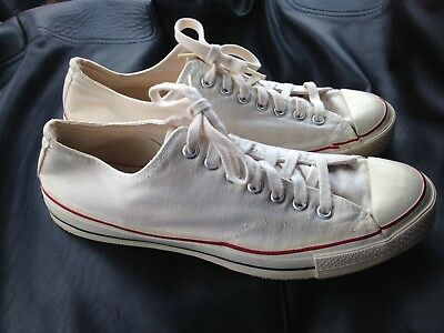 VTG 60s Converse Chuck Taylor All Star Shoes Sneakers Black/Blue Label Sz 11 USA
