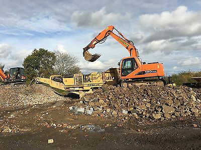 Concrete Crusher, Plant & Grab Hire Groundworks Haulage.