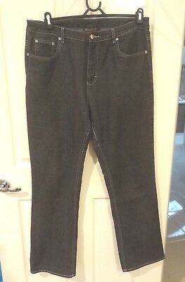MAGGIE T denim jeans, tagged size 14 fit size 16