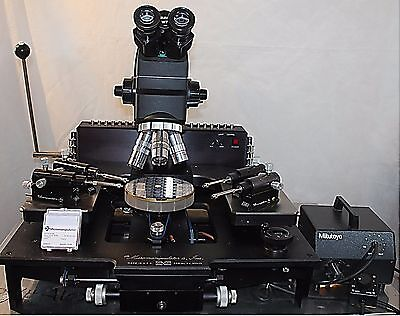 "Micromanipulator 6"", Mitutoyo Microscope prober,Refrb Free Ship,1 YEAR Warrnty"