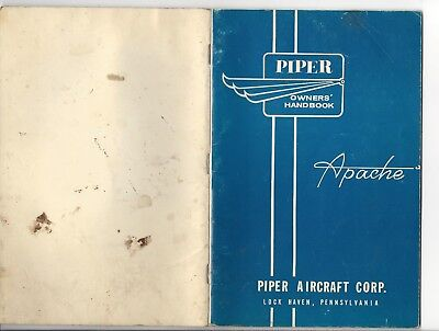Piper Owner's Handbook: The Piper Apache Models PA-23 & PA-23-160