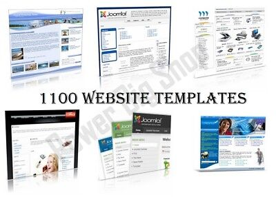 1100 Website Templates W/ Resell Rights Highly Profitable Web Templates + Bonus