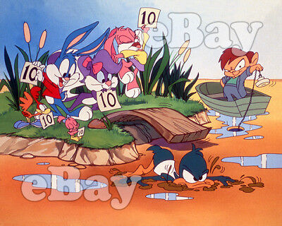 Rare! TINY TOON ADVENTURES Cartoon Color TV Photo WARNER BROS ANIMATION