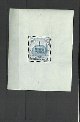 Belgium 1936 Stamp exhibition miniature sheet
