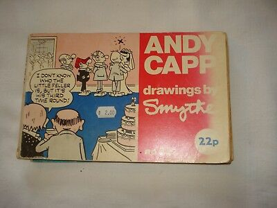 Two Andy Capp cartoon books No's 33 and 37 by Reg Smythe