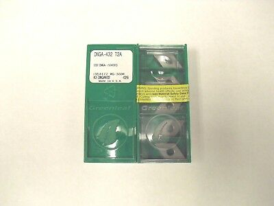 DNGA 432 T2A WG 300 Greenleaf Ceramic Insert **10PCS**
