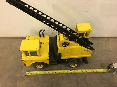 VINTAGE as found Tonka Mighty Crane construction toy 3940? As is