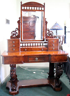 Australian colonial antique huon pine dressing table late 19th C
