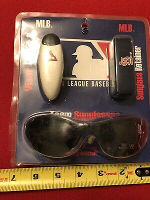 authentic St Louis Cardinals MLB team Sunglasses Set new in package and unopened