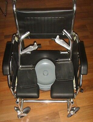 Guardian shower & commode chair / Stainless steel frame / water resistant