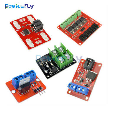 1/4 Channel 1/4 Route MOSFET Button IRF520 IRF540+MOSFET Current Switch Module