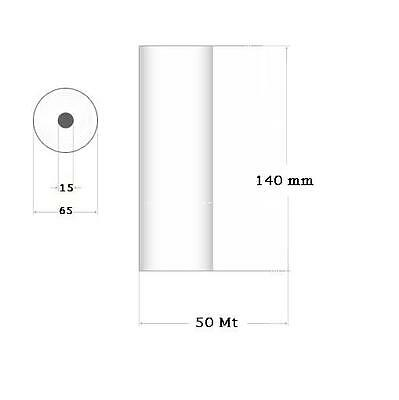 Paper thermal for Ultrasound Electrocardiograph 140 mm x 50 M KPHR 1809 4 Pcs