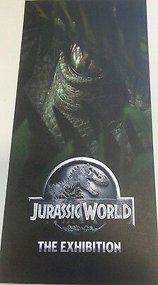 Promotional Flyer Only Jurassic World Exhibition