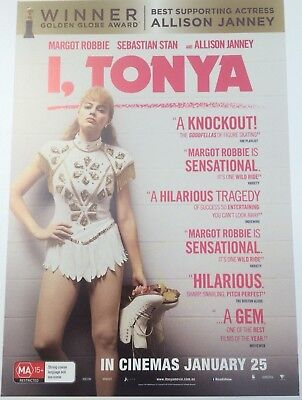 Promotional Movie Flyer *NOT A DVD* Margot Robbie In I, Tonya