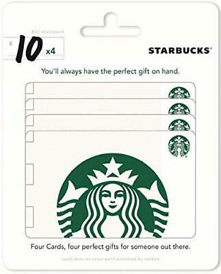 Starbucks Gift Card 2 x $10 Email Delivery Send Fast Convenient