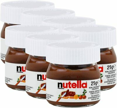 NUTELLA MINI 25g x 40Pk Glass Jar Ferrero Hazelnut Chocolate 11/08/2018