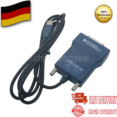 HOT NI GPIB-USB-HS GPIB Data Acquisition Card 778927-01 IEEE 488 DE SHIP