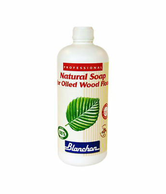 Blanchon Natural Colourless Soap For Oiled Wood Floors 5 Ltr