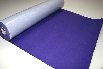 Self Adhesive Felt Baize Fabric Mini Rolls - PURPLE