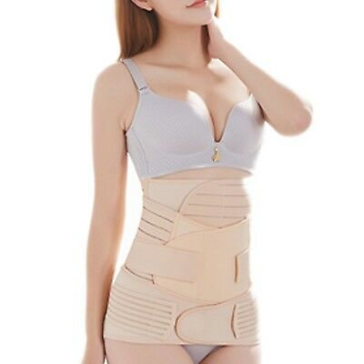 Postpartum Belly Band-3 in 1 Post Partum Girdle C-section Recovery Belly Wrap...