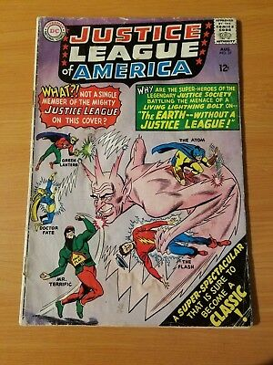 Justice League of America #37 ~ GOOD - VERY GOOD VG ~ (1965, DC Comics)