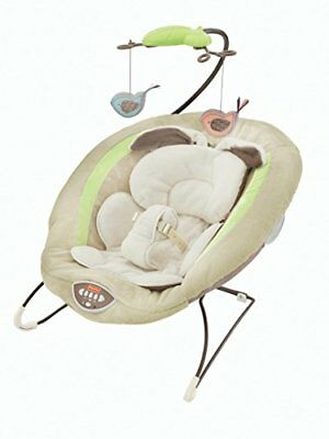 NEW Fisher Price Deluxe Bouncer My Little Snugabunny FREE SHIPPING