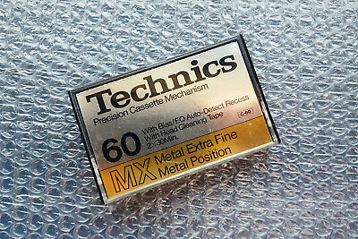 Extrem rare TECHNICS RT-60MX Audiokassette
