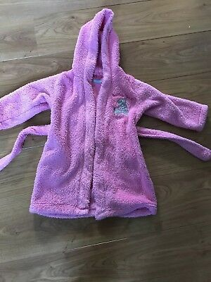 Marks And Spencer Tatty Teddy Girls Dressing Gown Age 2-3 Years