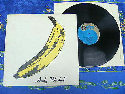 The Velvet Underground & Nico ♫ Andy Warhol Ri Uk Press♫ Megarare Mgm  Record #1