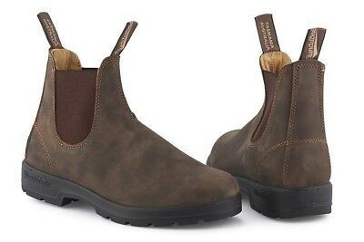 Blundstone 585 Rustic Brown Leather Boots Brand New In Box Unisex