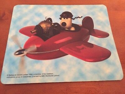 wallace and gromit Mousepad -Gromit -very Rare