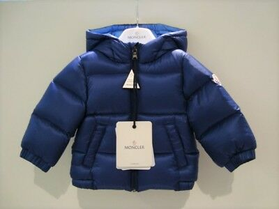 Details about Giubbotto MONCLER tg. 6a, 8a poncho bambina nuovo Bamboo colore nero