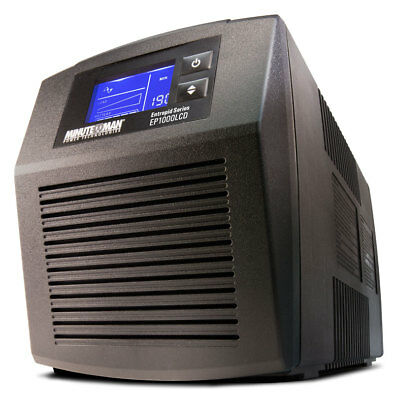 MINUTEMAN UPS EP1000LCD Entrepid Battery Backup 1000Va 600W