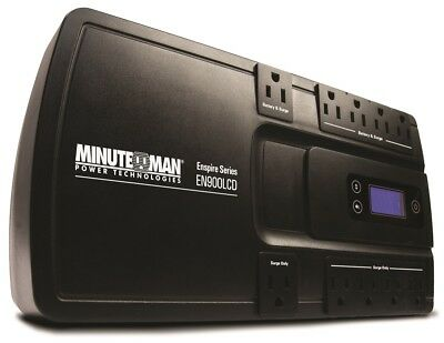 MINUTEMAN UPS EN900LCD Enspire 900Va Stand-By Ups With Lcd