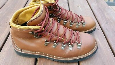 3e3cb3a245c2 MENS DANNER MOUNTAIN Pass hiking boots Horween Rio 9.5