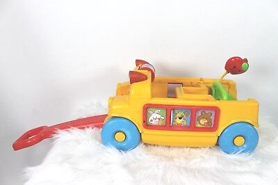 Fisher Price Peek A Blocks Musical Sounds Wagon Only Sorting Toy Pull Along 2005