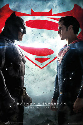 BATMAN VS SUPERMAN Movie Poster - ONE SHEET - New Movie poster FP4187
